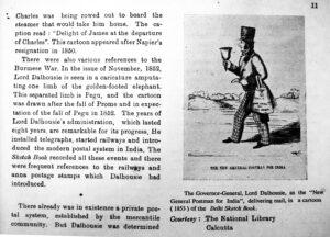Cartoons (Kamal Sarkar) (Pub. NI-RAN Books) (1971) (Size. 13.5x20.2)cms.(p. 11 ) Pic.7