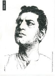 Satyajit Ray Silpi Krishnajit Sengupta